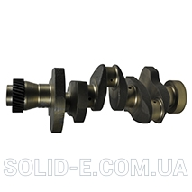 CRANKSHAFT HEAVY DUTY 3 CYL. - SECOND ASSEMBLY Renault / Claas 28/1-180