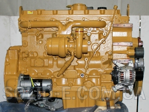 Двигатель Perkins 1106-70TA, Caterpillar C7.1